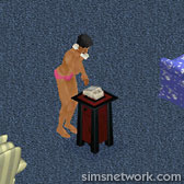 The Sims Comic Strip - Pool Party