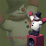 Sims 2 Happy Holidays 2010 wallpapers (iPad)
