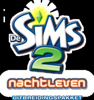 De Sims 2: Nachtleven logo