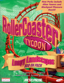 Rollercoaster Tycoon: Loopy Landscapes Box Art Packshot