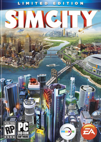 SimCity Limited Edition box art packshot
