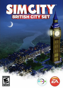 SimCity British City Set box art packshot