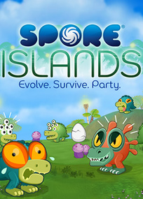 Spore Islands box art packshot