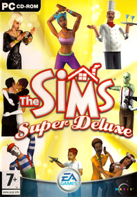 The Sims: Super Deluxe box art packshot