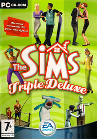 The Sims: Triple Deluxe box art packshot
