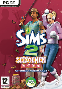 De Sims 2: Seizoenen box art packshot