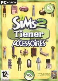 De Sims 2: Tiener Accessoires box art packshot