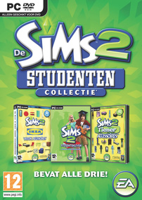 De Sims 2: Studenten Collectie box art packshot