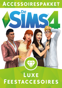 De Sims 4: Luxe Feestaccessoires box art packshot