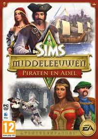 De Sims Middeleeuwen: Praten & Adel box art packshot