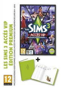Les Sims 3: Accès VIP + Agenda Deluxe (Edition Premium) packshot box art