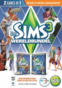 De Sims 3: Wereldbundel packshot box art