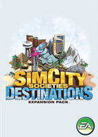 SimCity Societies: Destinations box art packshot