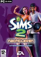 De Sims 2: Nachtleven box art packshot