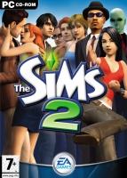 The Sims 2 box art packshot