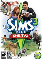 The Sims 3 Plus Pets packshot box art