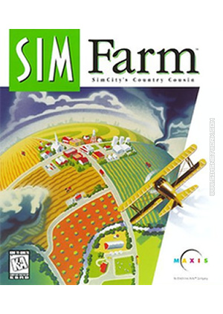 Sim Farm SimFarm packshot box art