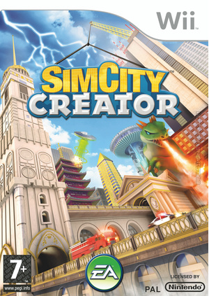 SimCity Creator Wii Box Art Packshot