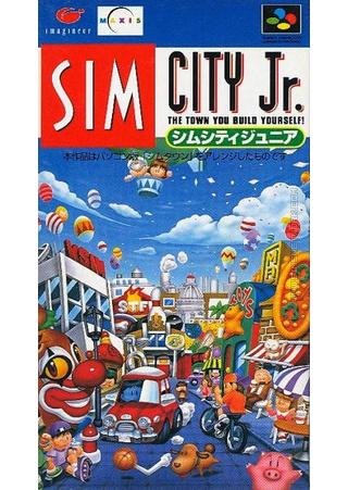 SIM City Jr packshot box art