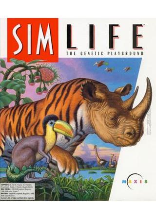 SimLife Sim Life packshot box art