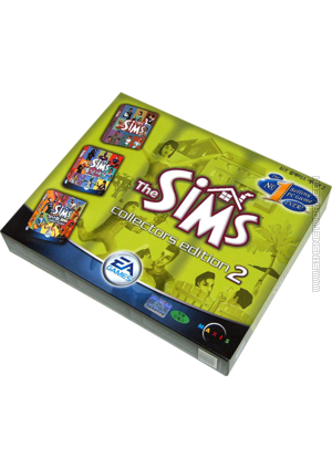 The Sims: Collector's Edition 2 box art packshot