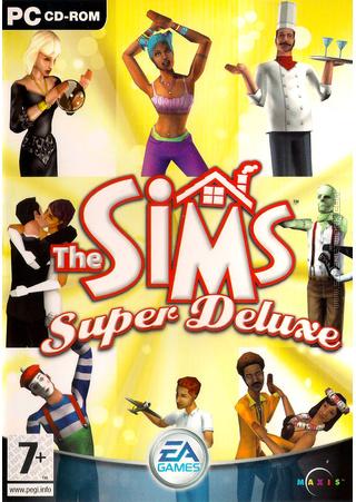 The Sims: Super Deluxe box art packshot