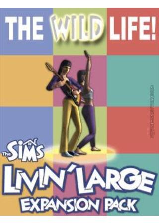 The Sims: Livin' Large for Mac box art packshot