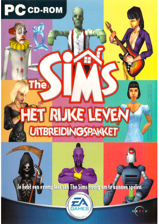 The Sims: Het Rijke Leven box art packshot