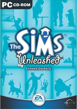 The Sims: Unleashed box art packshot