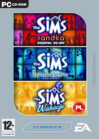 The Sims: Zestaw Trzech Dodatków, Część 2 box art packshot