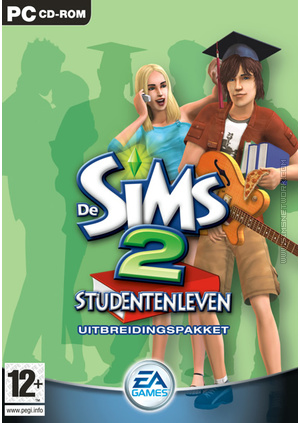 De Sims 2: Studentenleven box art packshot