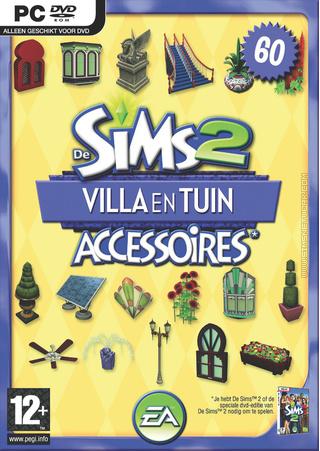 De Sims 2: Villa & Tuin Accessoires box art packshot