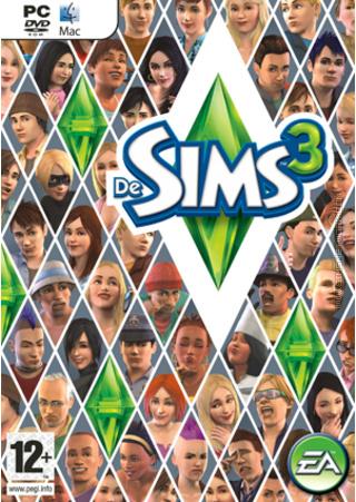 De Sims 3 box art packshot