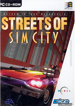 Streets of Sim City packshot box art