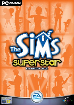The Sims: Superstar box art packshot