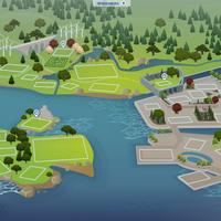 The Sims 4: Windenburg world (empty)